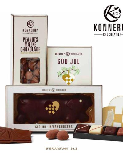 Sjokolader og juleprodukter for jul 2018